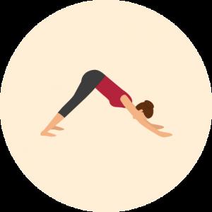 Yoga-Position Adho Mukha Svanasana