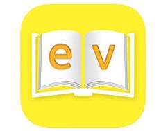 App for blind MD evReader