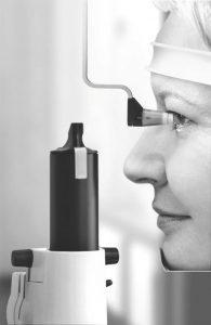 Tonometrie zur Untersuchung des Augeninnendrucks