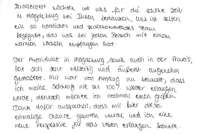 Patientenbrief