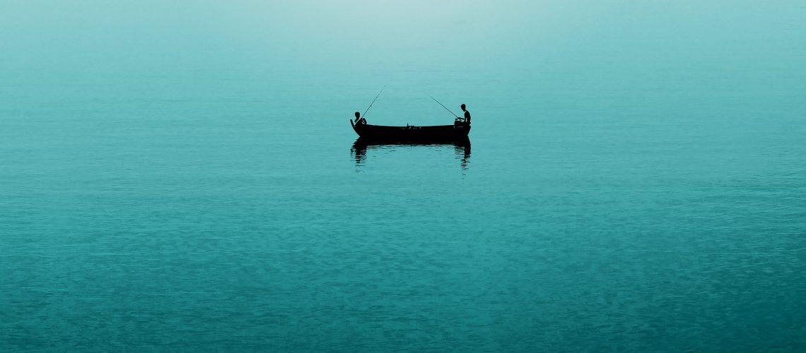 Boot auf See