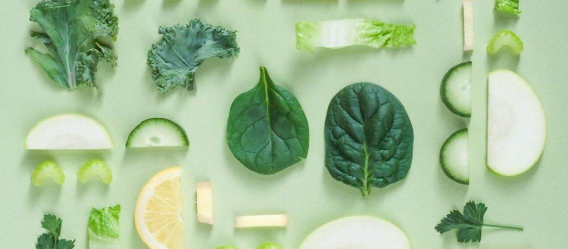 Pflanzenteile mit augenfreundlichen Nährstoffen